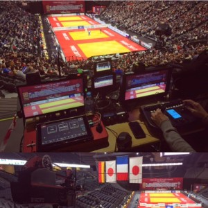 cable cam Judo Paris Grand Slam 2017
